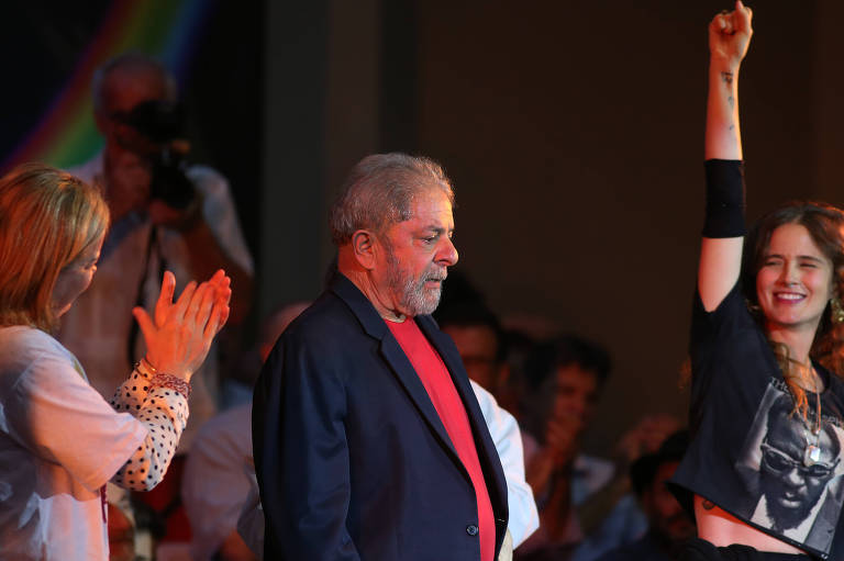Ato em defesa de Lula em São Paulo