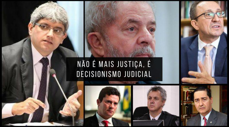 Resultado de imagem para a confusão do judiciário no caso lula