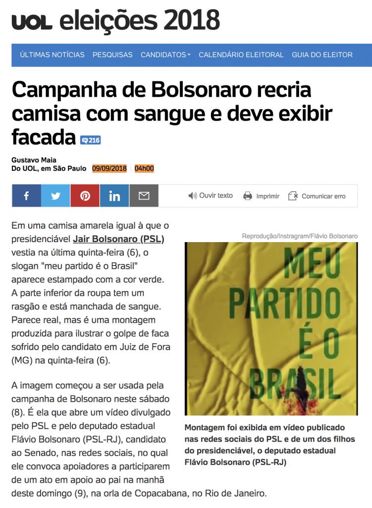 """Não sangra! Eis o """"milagre"""" do novo (Jair) """"Messias"""" (Bolsonaro ... 3c1024ccac11d"""